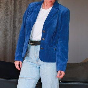 Dress Barn Blue Statement Blazer